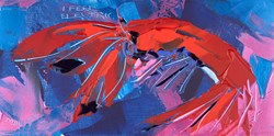 I Feel Electric by Duncan MacGregor - Original Painting on Board sized 24x12 inches. Available from Whitewall Galleries